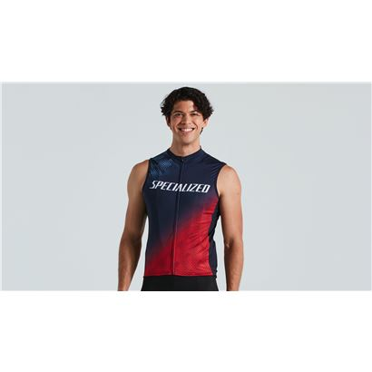RBX COMP LOGO JERSEY SVL NVY/RED M